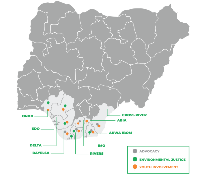 map of nigeria 2